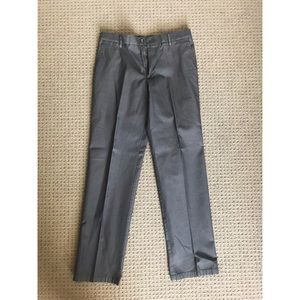 DOCKERS Straight Fit Gray Dress Pants